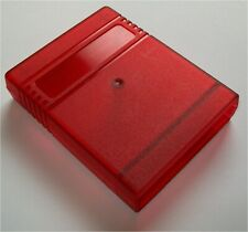 Clear Red Commodore 64 128 Cartridge Case