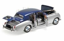 ROLLS ROYCE SILVER CLOUD II - 1954 - SILVER/BLUE - Minichamps 1:18 - 100134902