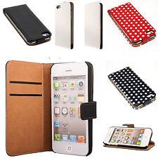 IPhone 3 3gs 4 4s 5 5s, móvil bolso flip case plegable funda protectora, funda, estuche, protección