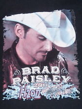 Brad Paisley Wetter and Wilder 2011 Tour T-shirt size Medium w/Specials Guests