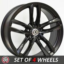 20 Inch BLADE Wheels Rims for VW Touareg 5/130 SUV Satin Black