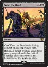 WAKE THE DEAD Commander 2014 MTG Black Instant Rare