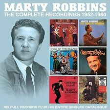 MARTY ROBBINS THE COMPLETE RECORDINGS 1952-1960 4 CD NEW