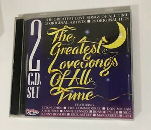 The Greatest Love Songs Of All Time - 16 Original Hits   - 2 CD