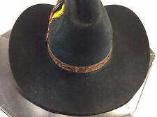 Biltmore Silver Buckle Western Cowboy Hat w Box Vintage Hat Black Canada
