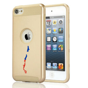 For Apple iPod Touch 5th 6th Shockproof Hard Soft Case Cover Chile