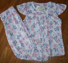 Aria Pajama Sets Floral Plus 1x Sleepwear Robes For Women Ebay