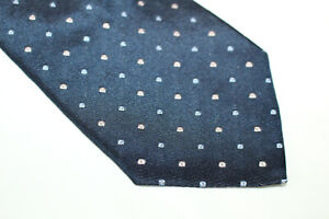 ERMENEGILDO ZEGNA Silk tie Made in Italy F11132  man