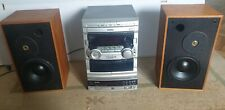 Chaine hifi philips cd cassette tuner  platine cd enceintes monitor MA7