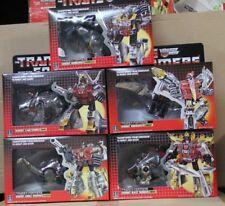 Robot Set of 5 G1 DINOSAUR dinobot 5 Sets Grimlock Sludge Slag Swoop Snarl Gift