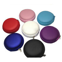 Earphone Headphone Earbud Carrying Hard Case Protect Storage Pouch Bag Holder LD
