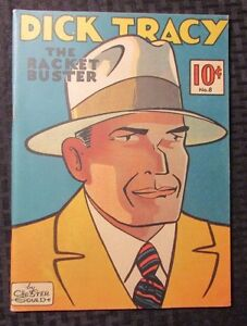 1982 DICK TRACY Racket Buster #8 FVF Chicago Tribune Reprint Chester Gould