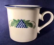 Vintage Dansk Provence Harvest Grapes Coffee Tea Mug - FREE SHIPPING!!!