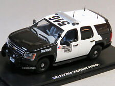 MTH RAIL KING 1:43 DIE-CAST CHEVY TAHOE POLICE HWY PATROL CAR auto 30-50112 NEW