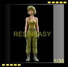 BRICK-WORK 1/35 Ma.k. Independent Mercenary Army Female pilot resin figure
