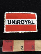 Car Auto Tires UNIROYAL Advertising Patch 93NW