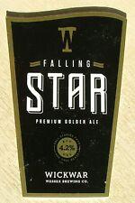 Beer Pump Clip Badge Wickwar Wessex Brewing Co Falling Star BP757