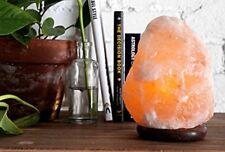 Crafted sel de l'Himalaya Lampe naturel forme 1.5-2 kg, y compris (CABLE + Ampou...