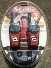 NEW Dale Earnhardt Jr Limited Edition Cobra 10mile Two Way Radios Gmrs FRS charg