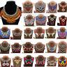Ethnic Bohemia Women Tassel Necklace Pendant Statement Choker Bib Tribal Jewelry