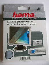 "Hama Pantalla Monitor Tv cubierta de polvo de 19 "" -21"" 48-53cm translúcido Protector 62644"