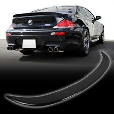 READY TO SHIP CARBON FIBER BMW 6-SERIES E63 COUPE V TYPE TRUNK BOOT SPOILER M6