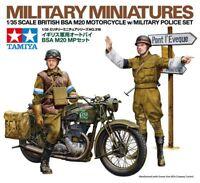 Tamiya 35316 1/35 Model Kit British BSA M20 Motorcycle w/Military Police Set SDA