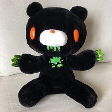 "Chax GP Gloomy Bear Plush Toy Doll Horror Tone Black 15"" Taito Toreba Rare TAG"