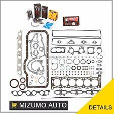 Fit Full Gasket Set Bearings Rings 89-92 Toyota Cressida Supra 3.0 DOHC 7MGE