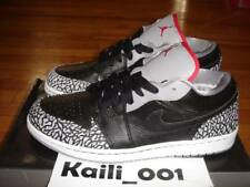 Nike Air Jordan 1 Phat Low Size 12 Black Cement 350571-061 Supreme Retro Dunk A