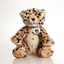 Build A Bear Wwf Cheetah Plush Cheetah Leopard World Wildlife Animal A1-1