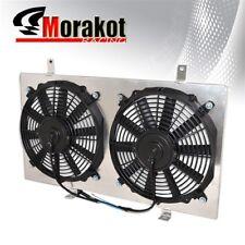 "For 94-99 Celica Gt-Four Manual MT Aluminum Radiator Shroud W/ 12"" Cooling Fan"