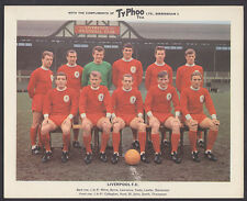 Ty-Phoo - Famous Fooball Clubs 2nd Series 1965 - Liverpool
