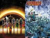 GUARDIANS OF THE GALAXY 4 Marquez Cvr + Raney Asgardian Variant Marvel 2019 NM