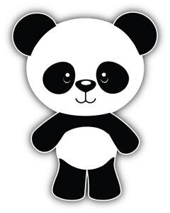 Panda Cartoon Sticker Bumper Decal - ''SIZES''