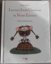 LIVRE CD LES PLUS JOLIES CHANSONS DE NOTRE ENFANCE Vincent Malone - NAIVE