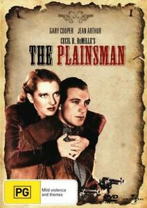 THE PLAINSMAN (1937) [NEW DVD]