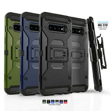 for SAMSUNG GALAXY S9 S10 S10e NOTE 9 10 PLUS, Tank Series Phone Case & Holster
