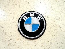 New BMW Car Logo Patches Embroidered Cloth Patch Applique Badge Iron Sew On