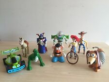 Toy Story Figures Woody, Jessie, Slinky, Zurg, Rex, Mr Potato Head, Rc, Bullseye