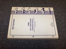 1996 Toyota Camry Air Conditioner AC Service Installation Manual DX LE XLE SE