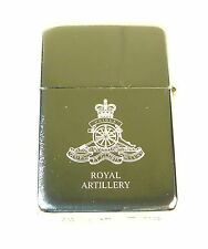 RA ROYAL REGIMENT OF ARTILLERY REGIMENTAL CLASSIC HAND ENGRAVED LIGHTER
