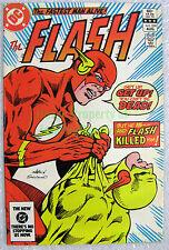 The Flash #324 KEY issue Death of Reverse-Flash Zoom Eobard Thawne BIG PICS!