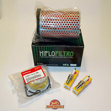 Honda Engine Service Kit CX500 GL500 Silver Wing - Oil Air Filter Plugs. KIT037