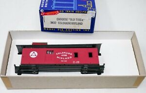 Roundhouse 3432 HO Colorado Midland 402 Pikes Peak Old Timer Caboose Car Unbuilt
