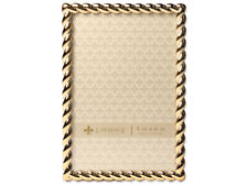Lawrence Gold Metal Rope Frame For 4x6 Photos (Same Shipping Any Qty)
