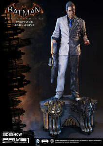 SIDESHOW Prime 1 STUDIO Two-Face EXCLUSIVE 1:3  Arkham Knight STATUE BATMAN 2