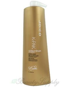 Joico K-Pak Cuticle Sealer (Classic Package) 33.8 fl oz /1 Liter New with Pump
