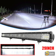 "Quad ROW 29""inch 2100W LED Light Bar Combo Offroad for Jeep Truck 30""31"" 32"" 36"""