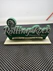 Rolling Rock Premium Beer Latrobe Brewery Plastic Bar Stand Up Sign